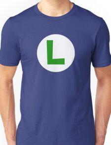 Super Mario Luigi Icon Unisex T-Shirt