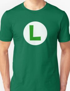 Super Mario Luigi Icon T-Shirt