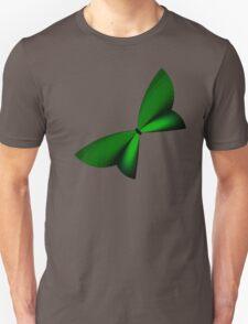 Green Geometric Butterfly Unisex T-Shirt