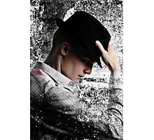 Hat Strategically Dipped Photographic Print