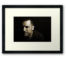 Darren Framed Print