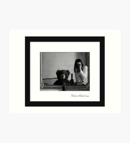 July - Robert Capa Art Print
