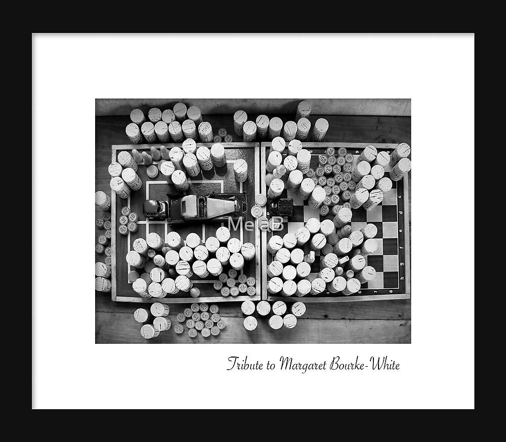 April - Margaret Bourke-White by MelaB