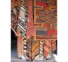 Rugs in the Souk Photographic Print