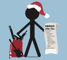 A Merry Stickman Xmas by Qontez George