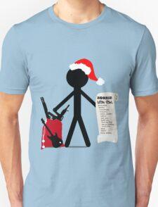 A Merry Stickman Xmas T-Shirt