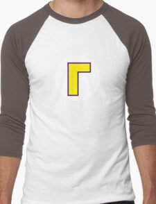 Super Mario Waluigi Icon Men's Baseball ¾ T-Shirt