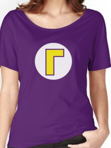 Super Mario Waluigi Icon Women's Relaxed Fit T-Shirt