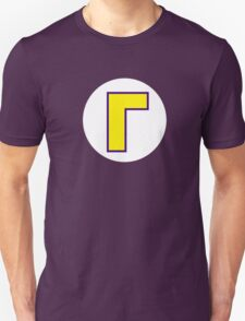 Super Mario Waluigi Icon T-Shirt