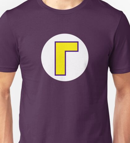 Super Mario Waluigi Icon Unisex T-Shirt