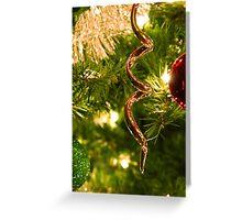 Christmas Twirl Greeting Card