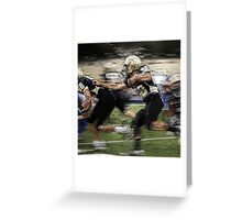 Extreme Football Greeting Card