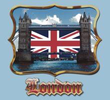 Tower Bridge - London, UK One Piece - Short Sleeve