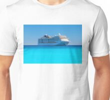 Luxury cruise ship in the Caribbean Unisex T-Shirt