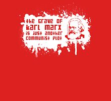 Another Communist Plot... (White Print) Unisex T-Shirt