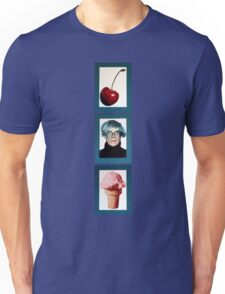 Warhol with a Cherry on Top Unisex T-Shirt