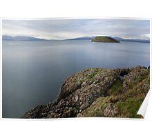 Calm Sea's - West Coast Scotland Poster