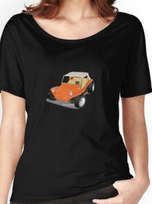 Dune Buggy Orange Manx Women's Relaxed Fit T-Shirt