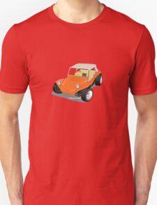 Dune Buggy Orange Manx T-Shirt