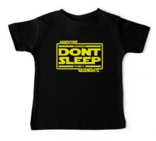 Hardcore Gamers Dont Sleep They Regenerate Baby Tee