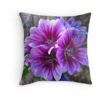 Purple Persuasion Throw Pillow