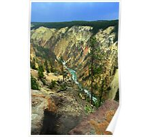 The Gorge - Yellowstone Poster