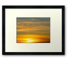 Shining Bright Framed Print