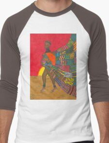 Masai - Mother & Child Men's Baseball ¾ T-Shirt
