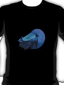 Nautalis Blue the t=shirt T-Shirt