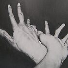 Hands in Grotesque by iseejamespeople