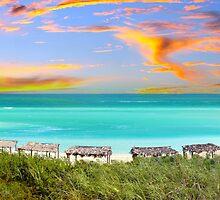 Postcard from Varadero Beach, Cuba by Digital Editor .