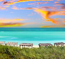 Postcard from Varadero Beach, Cuba by Atanas Bozhikov