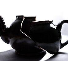 Broken Tea Pot by Jef Harris