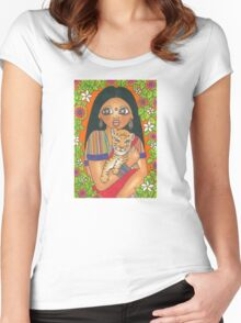 Amar Women's Fitted Scoop T-Shirt