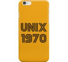 Unix 1970 iPhone Case/Skin