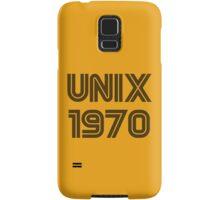 Unix 1970 Samsung Galaxy Case/Skin