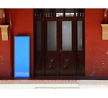 The Blue Box Photographic Print