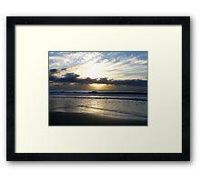 Sunrise, Sunshine Coast Framed Print
