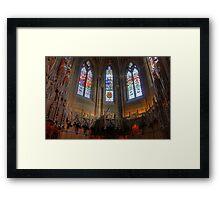 The Thistle Chapel Framed Print