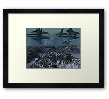 Curahee Base Framed Print