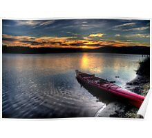 Rest - Narrabeen Lakes , Sydney - The HDR Experience Poster