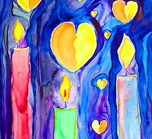 Candles....and Hearts.....and Hope by Kevin McGeeney