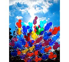 Balloons Photographic Print