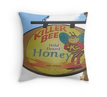 A Honey of a Business in Bisbee Throw Pillow