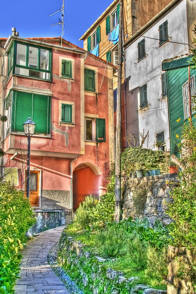 San Rocco Di Camogli by oreundici