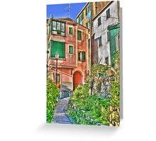 San Rocco Di Camogli Greeting Card