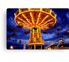 Midway at Night Canvas Print