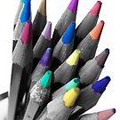 Coloured tips by CaptKremmen