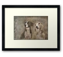 Bentley & Sophy Framed Print