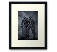 We could be heroes... Framed Print